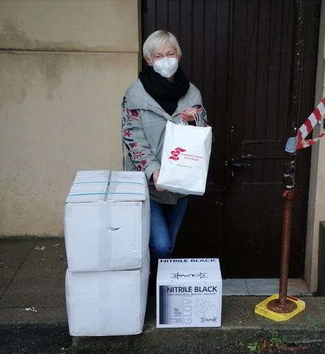 Ventimiglia: strumenti di protezione donati alla casa di riposo San Secondo dall'Associazione ACEB