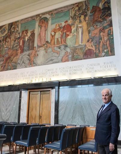 Imperia compie 97 anni, gli auguri del sindaco Claudio Scajola