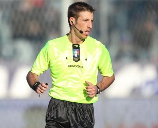 L'arbitro Davide Massa