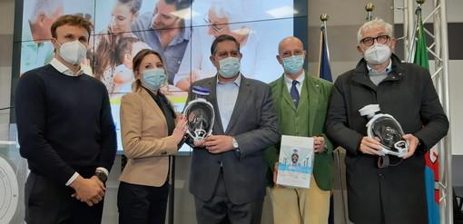 Coronavirus: oggi la consegna di 800 maschere protettive donate da Babboleo onlus agli ospedali liguri