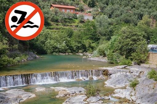 Badalucco: fognatura scarica nel torrente, scatta il divieto di balneazione nell'Argentina