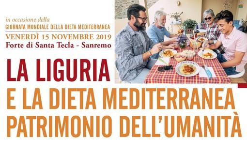Dieta Mediterranea patrimonio dell'umanità: un convegno a Sanremo venerdì 15 novembre a Santa Tecla