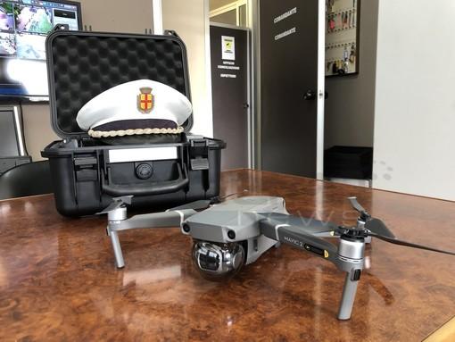 Un drone per la Polizia Locale di Taggia: contro gli abusivi e per i danni da maltempo