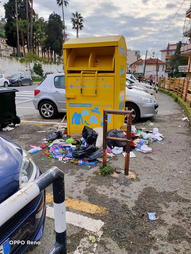 Sanremo: degrado nel quartiere San Martino, la segnalazione con foto di un residente