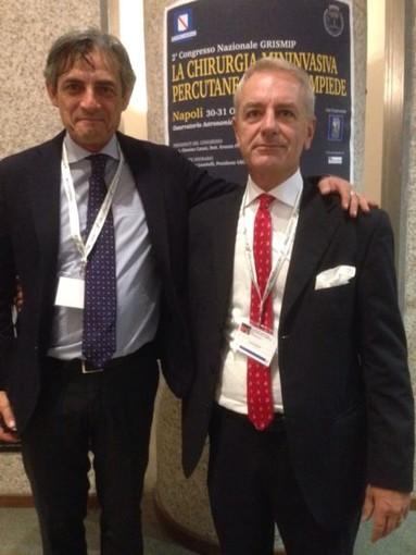 Sanremo rappresentata a Napoli dal Dottore sanremese Luca Avagnina al 2° Congresso Nazionale del Grismipl