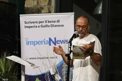 San Lorenzo, grande successo per la serata con Alessandro Perissinotto alla rassegna 'Due parole in riva al mare' (foto)