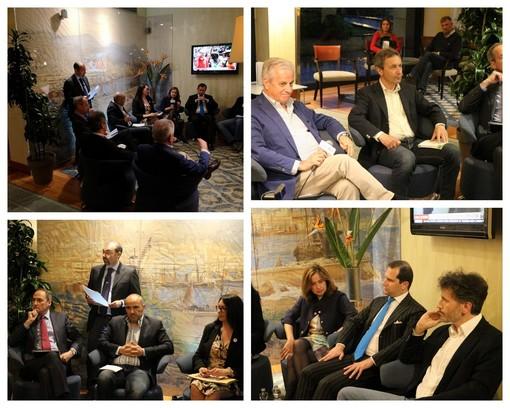 Imperia: elezioni Amministrative, dall'hotel Rossini il dibattito tra i candidati a Sindaco (Video)
