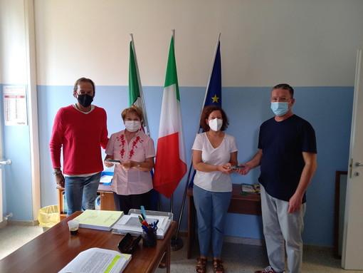 L'Amministrazione Comunale di Vallecrosia ringrazia il Lions Club Bordighera Capo Nero Host per la donazione