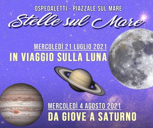 Ospedaletti: con 'Le Stelle sul Mare', mercoledì si andrà 'In Viaggio sulla Luna'