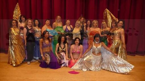 Arma di Taggia: domenica 28 giugno lo spettacolo di beneficienza delle Nadija's Oriental Dancers presso l'istituto Le Palme