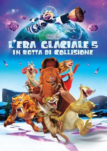 Riva Ligure: questa sera, proiezione film d'animazione 'L'era glaciale 5 In rotta di collisione'