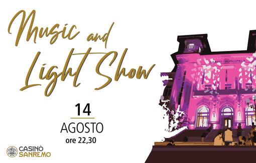 Sanremo, agosto di eventi al Casinò: una pioggia di Bollicine firmate Cuvage, Music and light Show sulla facciata, Can Can Paris e Cena con l'Opera