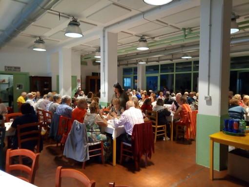 Imperia: con 140 partecipanti al pranzo sociale, conclusa la stagione 2018/2019 del Carpe Diem (foto)