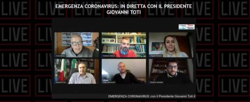 """Coronavirus, Toti in diretta con i giornali del nostro gruppo editoriale: """"Dopo Pasqua potrebbero esserci parziali riaperture"""" (video) """""""