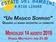 Riva Ligure: stasera, Prosegue la rassegna 'BimBumBam! ArRiva il Festival dei Bambini' con 'Un Magico Sorriso'