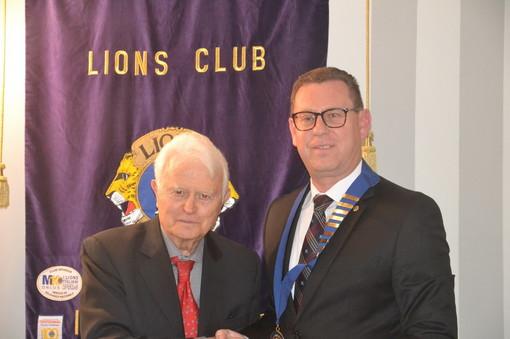 Giovedì scorso, Giancarlo Caselli ospite del Club Lions Imperia Host