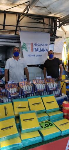 Vallecrosia: tradizionale fiera di Pentecoste in sicurezza grazie alla collaborazione tra Comune e AFI (foto)