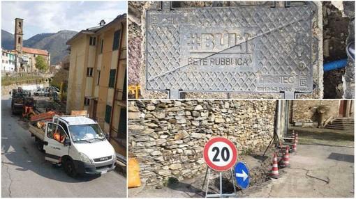 Per l'estate Montalto Carpasio sarà il primo borgo della Valle Argentina a essere raggiunto dalla banda ultralarga (foto)