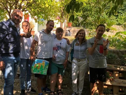 """Ventimiglia: ai Giardini Hanbury la 'Festa della Terra' con i ragazzi dell'ISAH, Nesci """"Abbiamo davvero apprezzato il loro impegno"""""""