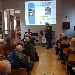 Ventimiglia: successo di pubblico oggi all'Aprosiana per la partecipazione del professor Franco manti