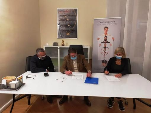 Firmata convenzione fra Confcommercio e Athena Medica di Sanremo per esami diagnostici con costi contenuti