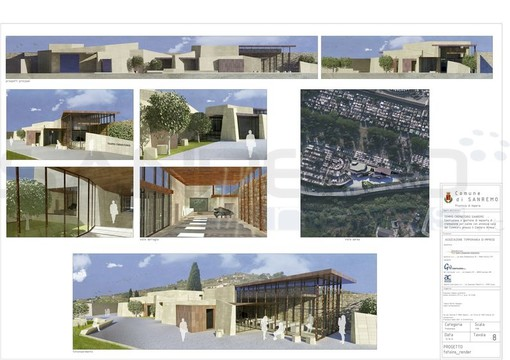 Il progetto per il crematorio di valle Armea