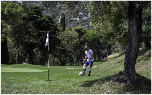 Sanremo: le immagini del campionato italiano di FootGolf in corso al circolo Golf degli Ulivi