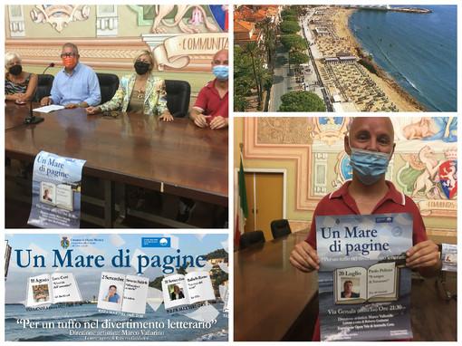 """Diano Marina, martedì 20 luglio al via la rassegna letteraria """"Un mare di pagine"""" (video)"""