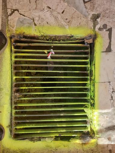 Sanremo: griglia sistemata e non cambiata in via Martiri, la segnalazione con foto di un lettore