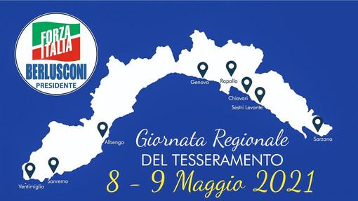 Nel weekend a Sanremo e Ventimiglia le 'Giornate del tesseramento' di Forza Italia