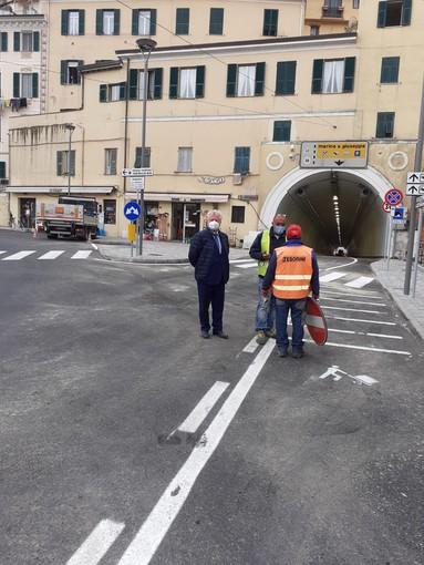 Ventimiglia: dopo mesi di lavoro riaperta la galleria degli Scoglietti