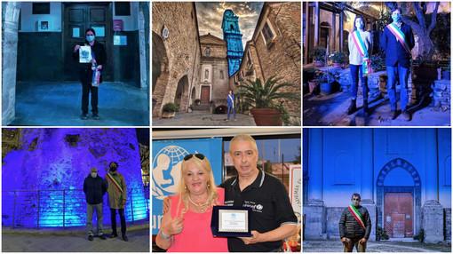 La Valle Argentina si illumina di blu per la Giornata Mondiale per i Diritti dell'Infanzia con Unicef