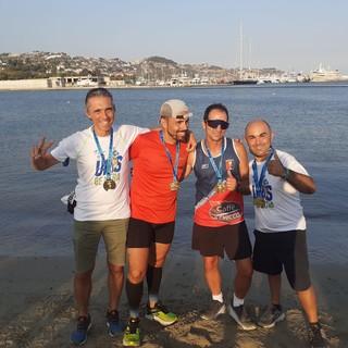 Gli atleti della 'Golfo Dianese Ultra Runners' conquistano il terzo posto alla Milano-Sanremo: orgoglio per l'intera provincia di Imperia (foto)