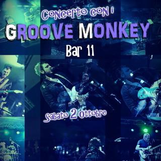 Concerto della band 'Groove Monkey' al Bar 11 di Imperia