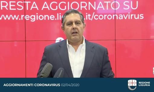 """Coronavirus: il Presidente Toti e l'Assessore Viale sulle Rsa """"Le nostre azioni un mese prima di quelle del Governo"""""""