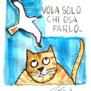 """Luis Sepulveda: lo ricordiamo con una frase tratta da """"La gabbianella e il gatto"""""""