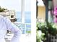 """Cena a """"4 Mani"""" martedì scorso a Ventimiglia: il ristorante stellato San Giorgio di Cervo è stato ospite del ristorante Balzi Rossi"""