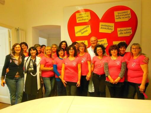 A Sanremo un gemellaggio unico, primo assoluto fra associazioni a sostegno delle donne con tumore al seno