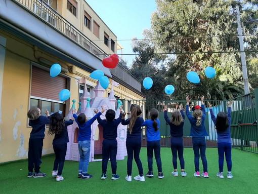 Nella Giornata mondiale sulla consapevolezza all'autismo. molteplici iniziative dell'IC Sanremo Ponente