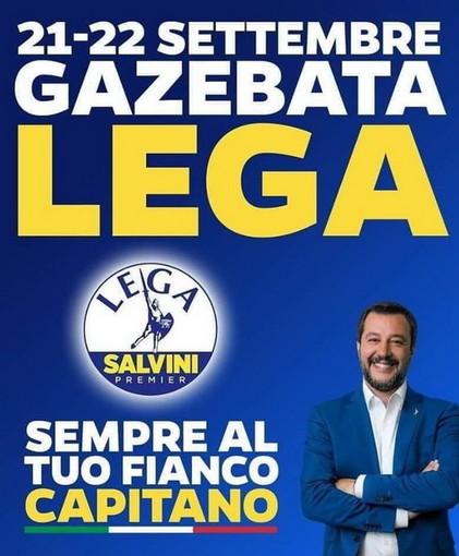 Domani e domenica, 50 gazebo della Lega per raccolta firme in tutta la Liguria