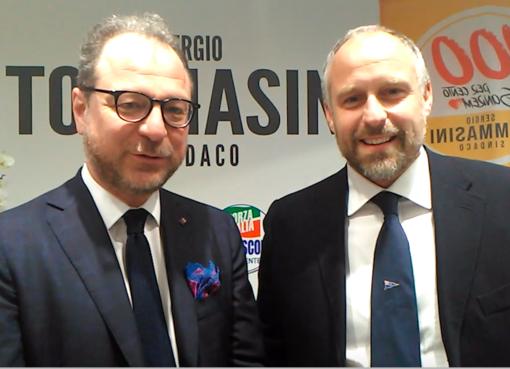 Giorgio Mulè e Sergio Tommasini