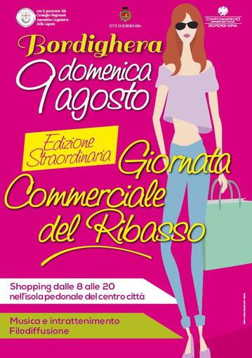 Bordighera, domenica prossima, edizione straordinaria della 'Giornata commerciale del ribasso'