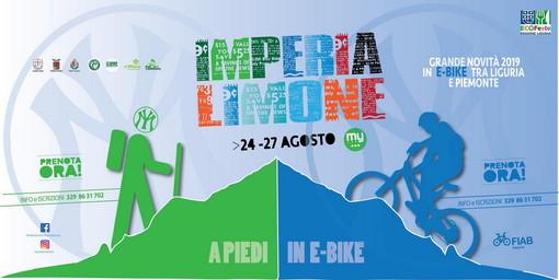 Dal 24 agosto, al via la 12esima edizione di Imperia-Limone a piedi e in e-bike