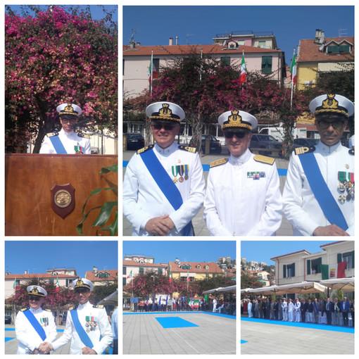 Cambio al comando della Capitaneria di Porto di Imperia, arriva il Capitano Giuseppe Semeraro (foto e video)