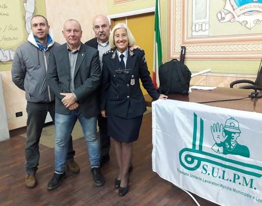 A Diano Marina l'incontro tra le polizie locali di Imperia e Savona sui nuovi strumenti di autotutela in dotazione