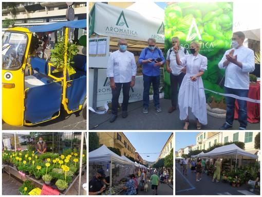Diano Marina, al via Aromatica, la rassegna dedicata alle eccellenze agroalimentari ed enogastronomiche (foto e video)
