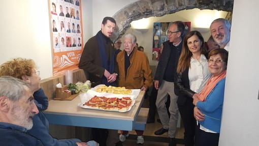 Elezioni comunali a Sanremo: Alberto Biancheri e i candidati di Sanremo Attiva Paola Silvano e Cesare Depaulis incontrano i sostenitori