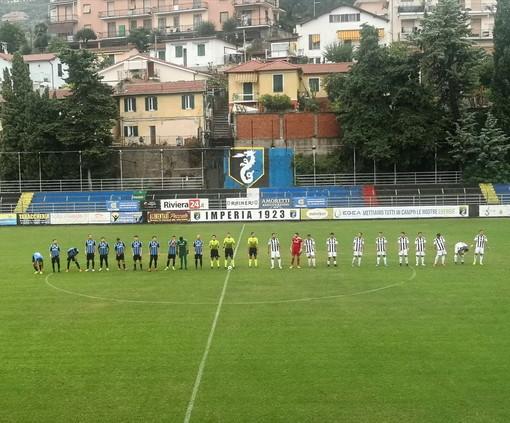 Calcio, prima vittoria stagionale dell'Imperia: in casa batte la Lavagnese 4 a 0
