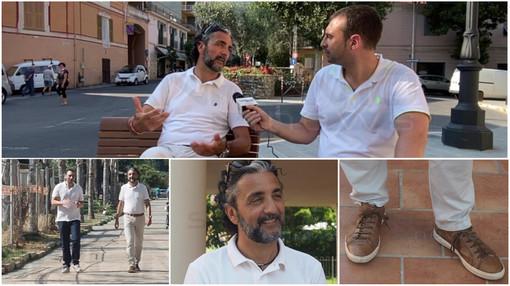 """Taggia verso le elezioni 2022: l'annuncio del sindaco Mario Conio, """"Mi ricandido"""" - video servizio"""