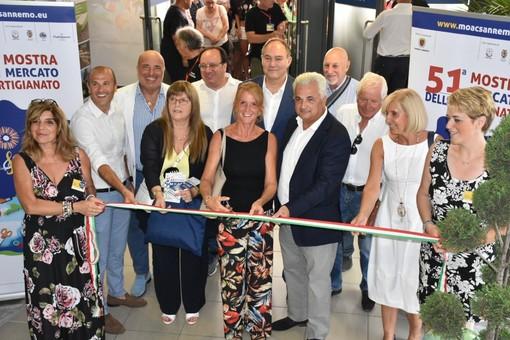 Sanremo: ecco l'artigianato, inaugurata al Palafiori di corso Garibaldi la 51a edizione del Moac (Foto e Video)
